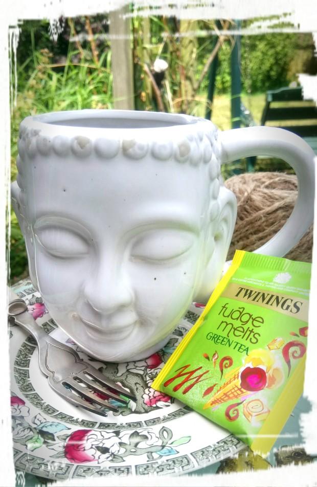 green tea still